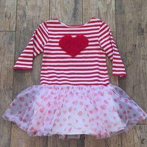 4T Heart Tutu Dress/Tunic